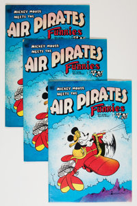 Air Pirates Funnies #1 Group (Hell Comics Group, 1971).... (Total: 10 Comic Books)