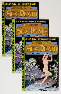 Tales of Sex and Death #1 Group (Print Mint, 1971) Condition: Average VF.... (Total: 3 Comic Books)