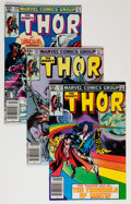 Modern Age (1980-Present):Superhero, Thor Box Lot (Marvel, 1983-92) Condition: Average NM....
