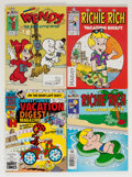 Bronze Age (1970-1979):Cartoon Character, Harvey Digest File Copy Group (Harvey, 1970s) Condition: AverageNM.... (Total: 36 Comic Books)