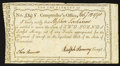 Colonial Notes:Connecticut, Connecticut Interest Certificate £2 Feb. 7, 1790 Anderson CT-53Very Fine.. ...