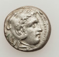 Ancients:Greek, Ancients: MACEDONIAN KINGDOM. Lot of two (2) AR coins. ... (Total:2 coins)