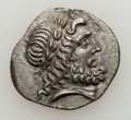Ancients:Greek, Ancients: THESSALY. The Thessalian League. Ca. 186-46 BC. AR stateror double victoriatus (5.95 gm). ...