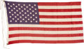 Political:Presidential Relics, Capitol Building Flag Presented Directly to Gerald Ford as a Congressman. ...