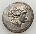 Ancients:Greek, Ancients: THRACIAN ISLANDS. Thasos. After 148 B.C. ARtetradrachm.  (16.79 gm). ...