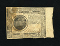 Colonial Notes:Continental Congress Issues, Continental Currency May 9, 1776 $7 with Broad Selvage About New.This is a very nice and intriguing Continental which is li...