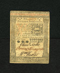 Colonial Notes:Pennsylvania, Pennsylvania October 1, 1773 15s Choice About New. This is a veryattractive example of this columned note which has three b...