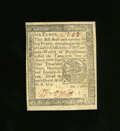 Colonial Notes:Pennsylvania, Pennsylvania April 10, 1777 6d Choice About New. This is a lovely small change note in appearance as the margins are broad, ...