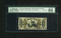 Fractional Currency:Third Issue, Fr. 1358 50c Third Issue Justice PMG Choice Uncirculated 64. An attractive and utterly original green back Justice note whic...