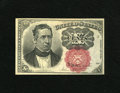 Fractional Currency:Fifth Issue, Fr. 1266 10c Fifth Issue Choice New. A blazing bright red seal is seen on this well margined short key Meredith note....