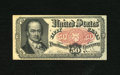 Fractional Currency:Fifth Issue, Fr. 1381 50c Fifth Issue New. This note was once mounted with stamphinges....
