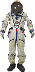 Transportation:Space Exploration, Original Russian Sokol Spacesuit. A rare opportunity to own a complete Russian Sokol (Falcon) Type KV-1 or KV-2 as manufactu... (Total: 1 Item)