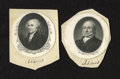 Miscellaneous:Other, President John Adams and John Quincy Adams Engravings.. This lotconsists of engravings of the second and sixth Presdents of...(Total: 2 items)