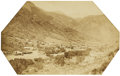 Photography:Cabinet Photos, Mammoth Plate Photograph by W. H. Jackson of Manitou, Colorado ca1880s....