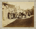 """Photography:Cabinet Photos, Imperial Size Photograph """"Zuni Transportation"""" by John K. Hillersca 1879...."""
