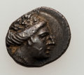 Ancients:Greek, Ancients: EUBOEA. Histiaea. Ca. 3rd-2nd centuries BC. Lot of two(2) AR tetrobols. ... (Total: 2 coins)