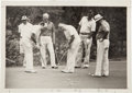 Photography:Official Photos, Gerald Ford: Celebrity Golf Photo with Bob Hope....