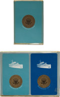 Political:Presidential Relics, John F. Kennedy: Presidential Yacht Sequoia Playing Cards.... (Total: 3 Items)