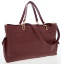 Luxury Accessories:Bags, Chanel Burgundy Caviar Leather Oversize Tote Bag with ShoulderStrap. ...