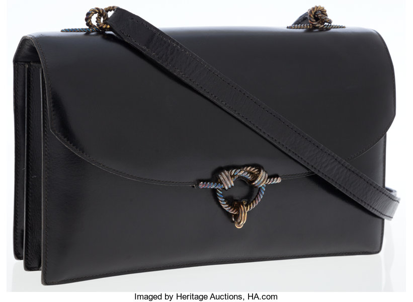 ... Luxury Accessories Bags, Hermes Black Calf Box Leather Sac Cordeliere  Bag with BurnishedGold Hardware ... 0814a5022e