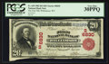 National Bank Notes:West Virginia, Williamson, WV - $20 1902 Red Seal Fr. 639 The First NB Ch. #(S)6830. ...
