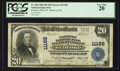 National Bank Notes:Pennsylvania, Bedford, PA - $20 1902 Plain Back Fr. 658 Farmers NB & TC Ch. #11188. ...