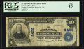 National Bank Notes:Pennsylvania, Wellsville, PA - $10 1902 Plain Back Fr. 626 The Wellsville NB Ch.# 8498. ...