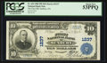 National Bank Notes:Pennsylvania, Sunbury, PA - $10 1902 Plain Back Fr. 624 The First NB Ch. # 1237....