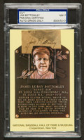 Baseball Collectibles:Others, Jim Bottomley Signed Cut Signature, PSA NM 7....