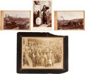 Photography:Cabinet Photos, Cabinet Cards: Fascinating Group.... (Total: 4 Items)