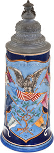 Antiques:Decorative Americana, Ivy League Beer Stein....