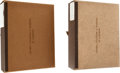 Political:Presidential Relics, Franklin D. Roosevelt: Two Custom-made Slipcases from his Library.... (Total: 2 Items)