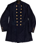 Military & Patriotic:Indian Wars, Indian Wars Double-Breasted Officer's Colorado Militia FrockCoat....