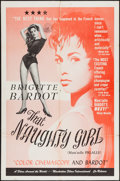 "Movie Posters:Sexploitation, That Naughty Girl (Films Around the World, 1956). One Sheet (28"" X42""). Sexploitation.. ..."
