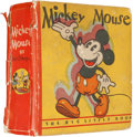 Golden Age (1938-1955):Cartoon Character, Big Little Book #nn Mickey Mouse (Whitman, 1933) Condition: FR....