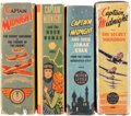 Big Little Book:Miscellaneous, Big Little Books Captain Midnight Group (Whitman, 1941-46)Condition: Average VF-.... (Total: 4 Items)