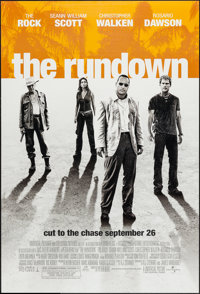 """The Rundown and Other Lot (Universal, 2003). One Sheets (2) (27"""" X 41"""") DS Advance. Action. ... (Total: 2 Item..."""