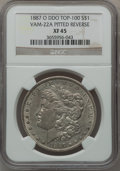 Morgan Dollars, 1887-O $1 Doubled Die Obverse, Vam-22A, Pitted Reverse XF45 NGC.Top-100. PCGS Population (16/58).. F...