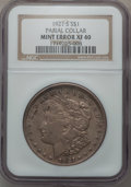 Morgan Dollars, 1921-S $1 -- Partial Collar -- XF40 NGC.. From The ParcfeldCollection....