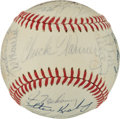 Baseball Collectibles:Balls, 1972 Chicago White Sox Team Signed Baseball (30 Signatures)....