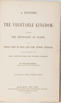 Books:Natural History Books & Prints, William Rhind. A History of the Vegetable Kingdom; Embracing the Physiology of Plants. Glasgow, et al.: Blackie ...