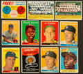 Baseball Cards:Lots, 1956 - 1959 Topps Collection (123) With Stars, Mantle, Williams,Aaron . ...