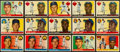 Baseball Cards:Lots, 1955 Topps Baseball Collection With Stars and 20 High Numbers(495). ...