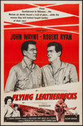 "Movie Posters:War, Flying Leathernecks and Other Lot (RKO, R-1956). One Sheets (2)(27"" X 41""). War.. ... (Total: 2 Items)"