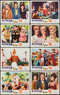 """Frankie and Johnny (United Artists, 1966). Lobby Card Set of 8 (11"""" X 14""""). Elvis Presley. ... (Total: 8 Items..."""
