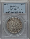 Bust Half Dollars, 1828 50C Square Base 2, Small 8, Large Letters, Overton-120, R.1VF35 PCGS. ...