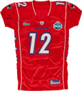 Football Collectibles:Uniforms, 2006 Tom Brady Authentic Style Pro Bowl Jersey....