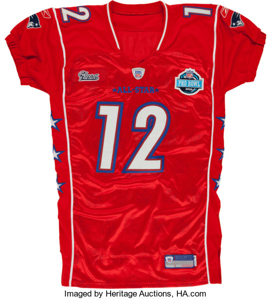separation shoes 9ce1c 47985 2006 Tom Brady Authentic Style Pro Bowl Jersey.... Football ...