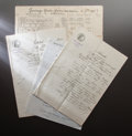 Other:European, RENOIR'S ESTATE DOCUMENTS. THE RENOIR COLLECTION. ... (Total: 11Items)