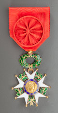 "Jewelry, RENOIR'S ""LEGION D'HONNEUR OFFICER"" MEDAL. THE RENOIR COLLECTION. ..."